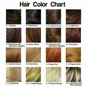 Chart Of Hair Colors Hairstyle Blog