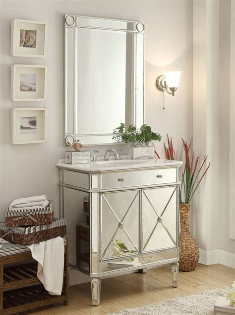Mirrored Vanities For Bathroom by 32 Quot Mirror Reflection Austell Bathroom Sink Vanity