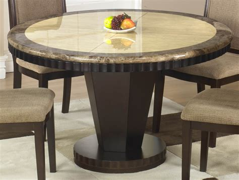 Stunning Small Round Wood Dining Table Also Wooden Kitchen