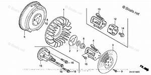 Honda Small Engine Parts Gx670 Oem Parts Diagram For Flywheel