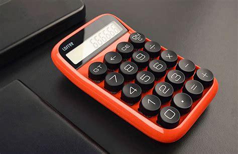 lofree digit calculator retro taschenrechner mit mechanischen tasten unhyped