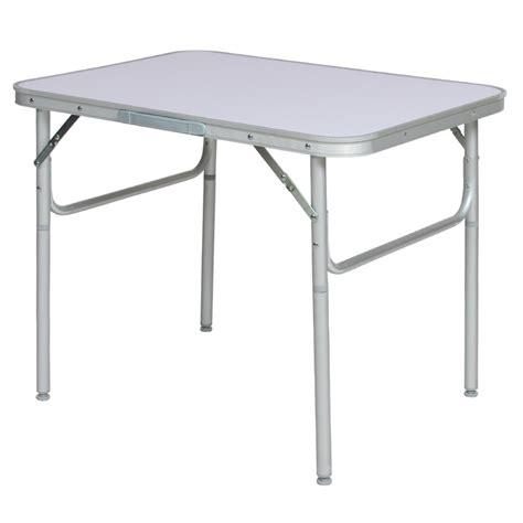 aluminium folding portable cing table small picnic garden bbq dining ebay