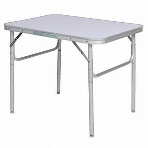 Petite Table Pliante : aluminium folding portable camping table small picnic garden party bbq dining ebay ~ Teatrodelosmanantiales.com Idées de Décoration