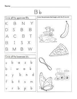 5 letter b worksheets alphabet phonics worksheets letter of the week