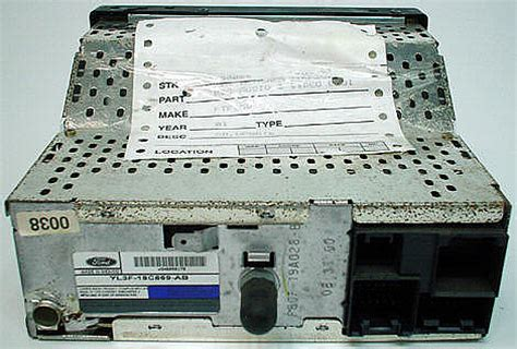 ford   factory oem stereo cd player radio