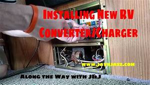New Rv Converter  Charger Installation