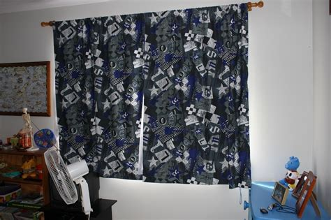 Rock N Roll Curtains · A Curtain/blinds · Sewing On Cut