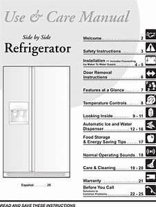 Frigidaire Refrigerator 240389312 User Guide