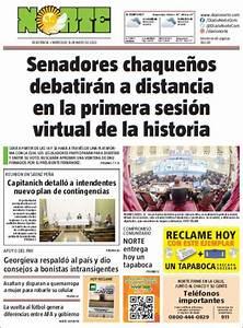 Peri U00f3dico Diario Norte  Argentina   Peri U00f3dicos De Argentina  Edici U00f3n De Jueves  14 De Mayo De