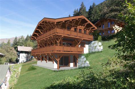 maison 224 vendre en rhone alpes haute savoie morzine chalet neuf magnifique sur plan avec 5