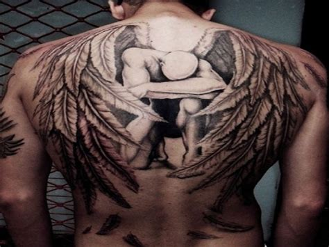 wings  tattoos  men  hd wallpapers hd wallpaper