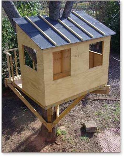 wooden treehouse plans   plans