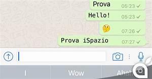 Kontodaten Per Whatsapp : whatsapp oltre al grassetto corsivo e barrato da oggi possibile scrivere con un nuovo font ~ Orissabook.com Haus und Dekorationen