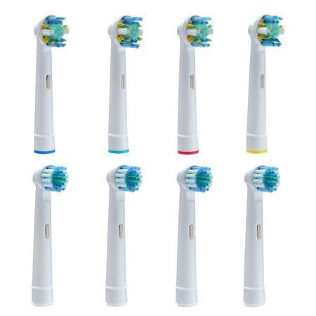 8PCS Oral B Braun Replacement Brush Heads Regular Brush