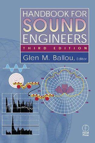 handbook  sound engineers  glen  ballou