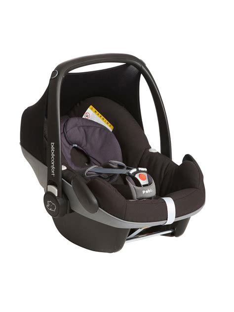 siege auto nourrisson le siège auto coque bébé confort pebble groupe 0 146 au