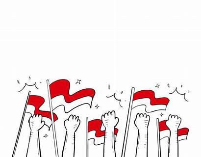 Pahlawan Independence Freepik Kemerdekaan Vektor Indonesia Nation