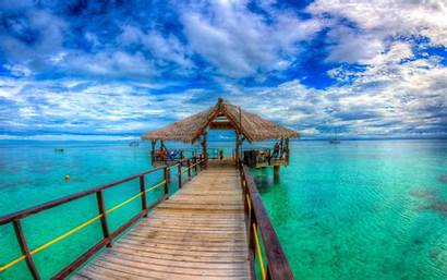 Island Fiji Islands Pc Ocean Bay Mobile