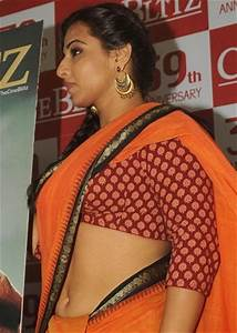 Blouse And Saree Without Bra