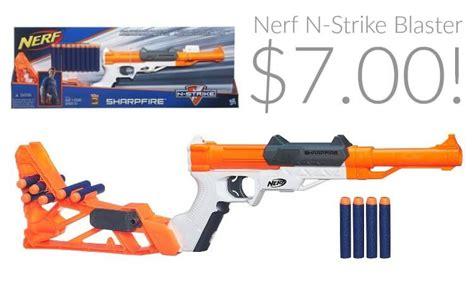 Nerf N-Strike SharpFire Blaster Only $7!