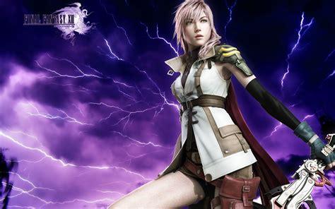 final fantasy 13 lightning wallpaper hd