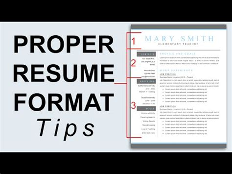 Font Size For Resume 2016 by Free Proper Resume Format 2016 Recentresumes