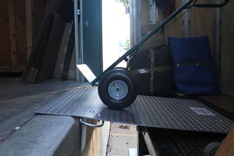 aluminum dock plate loading dock plate warehouse rack  shelf
