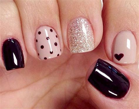 easy valentines day nail art designs ideas