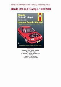 2000 Mazda Protege Repair Guides