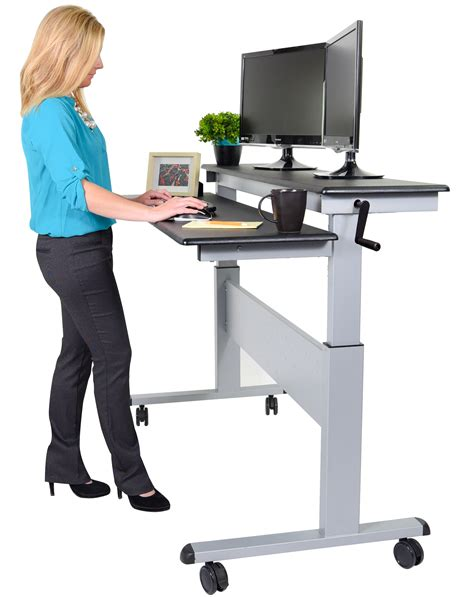 stand up computer stand for desk fantastic standing desks healthy office furniture stand