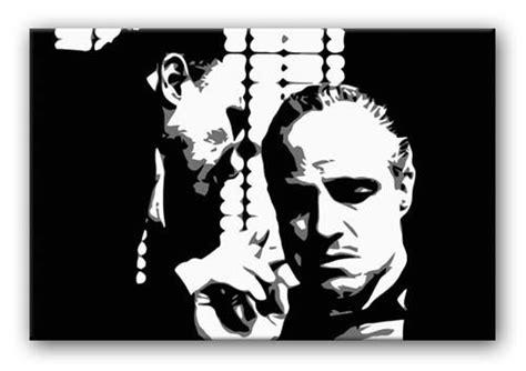 word   godfathers ear canvas