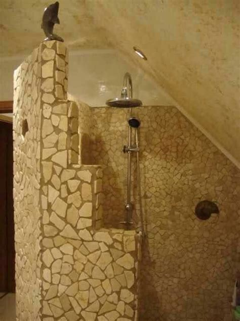 die besten  gemauerte dusche ideen auf pinterest