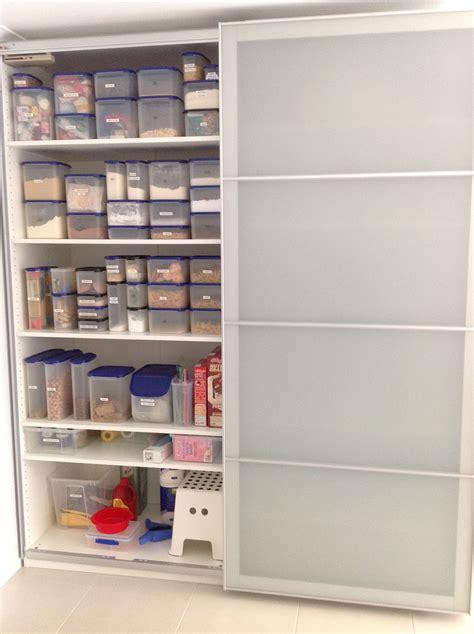 ikea kitchen pantry storage my ikea pax used as a kitchen pantry 4557