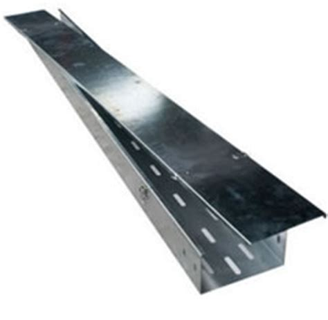 1 Galvanized Floor Flange by Perforated Cable Trays Cable Trunking Cable Ladders