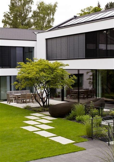 Gartengestaltung Modern Pflegeleichtvorgarten Modern