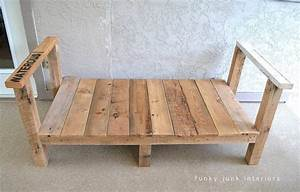 how i built the pallet wood sofa part 2funky junk interiors With build a recliner