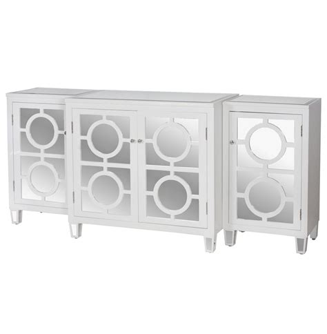 White Lacquer Sideboard Buffet by Malta Global Bazaar White Lacquer Mirror Buffet Sideboard