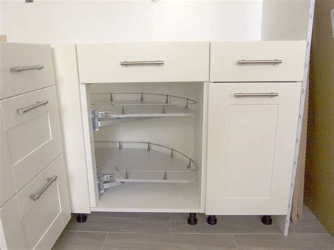 Corner Cupboards Ikea by Breathtaking Base Corner Pull Out Cabinet With Half Moon