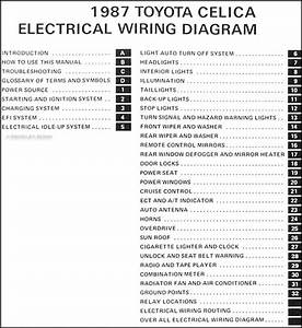 1987 Toyota Celica Wiring Diagram Manual
