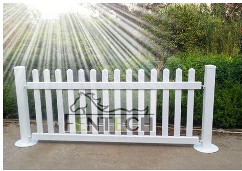 uv proof pvc portable fence panels garden fence buy pvc