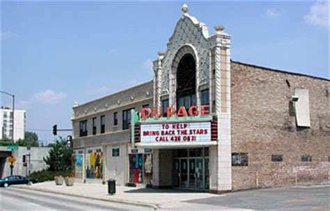 dupage theatre focal point  lombard downtown plan