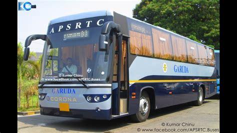 apsrtc corona garuda ac bus interior exterior  corona bs bus india youtube