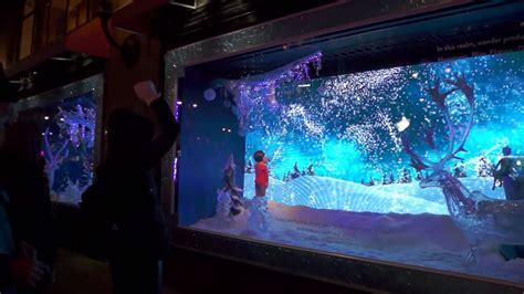 macys interactive christmas window twswlinyc  youtube