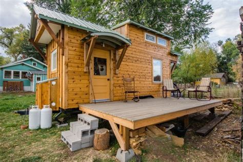 Incredible Mitchcraft Tiny Home Built On An 18' Trailer