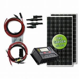 Mini Solaranlage Für Gartenhaus : 330 watt garten solar set maxi power typ gs 330 12 ~ Articles-book.com Haus und Dekorationen