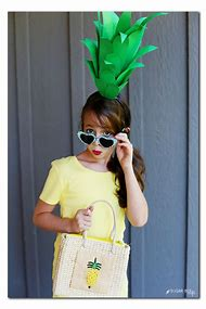 Easy DIY Pineapple Costume