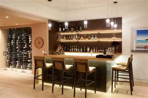amazing contemporary home bars    parties