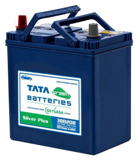 Tata Green Batteries 35 38B20R Car Ah Battery Price in ...