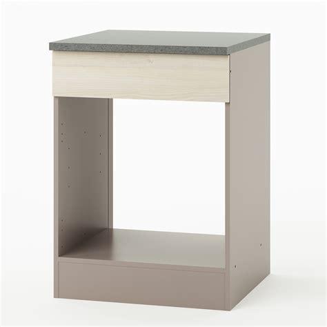 meuble cuisine pour four encastrable meuble cuisine pas cher