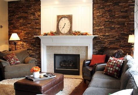 Living Room Accent Wall Fireplace by Matching Bathroom Fireplace Accent Walls Creative Faux